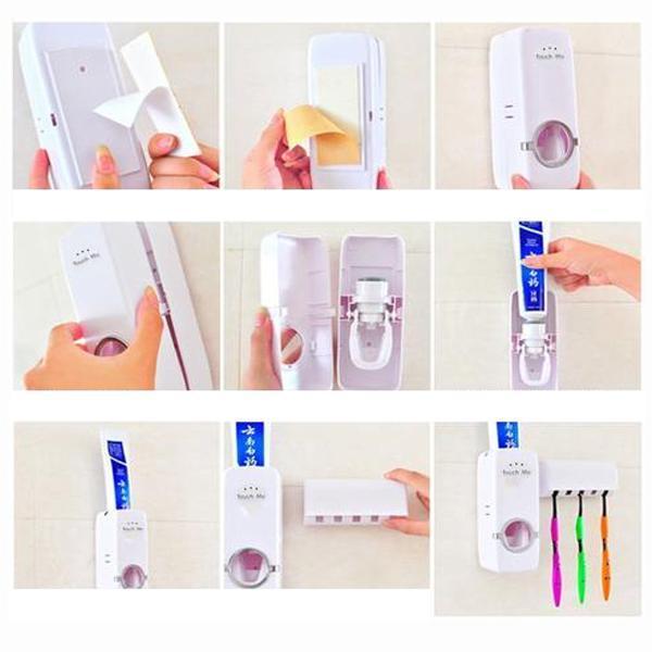 דיספנסר למשחת שיניים אוטומטי10