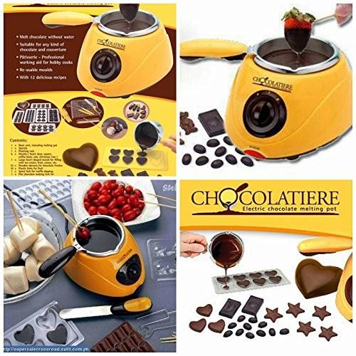 ערכה מושלמת להכנת פונדו שוקולד או פרלינים2