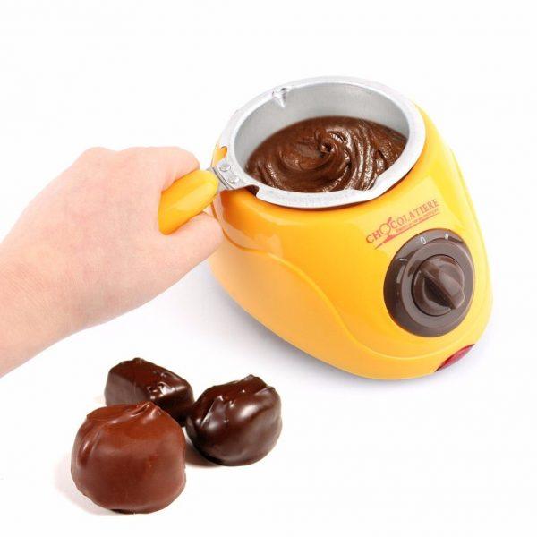ערכה מושלמת להכנת פונדו שוקולד או פרלינים3