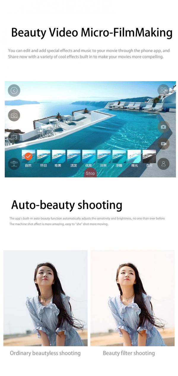 רחפן מקצועי בעל 2 מצלמות Dual camera כולל שלט באיכות 4K10