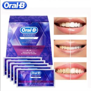 אורל בי ערכה להלבנת שיניים Oral B 3D professional effects