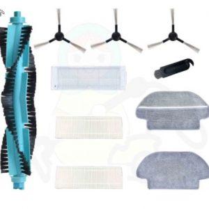 ערכת אביזרים לשואב אבק רובוטי XIAOMI Viomi V2 Pro V3 שיאומי - 10 חלקים