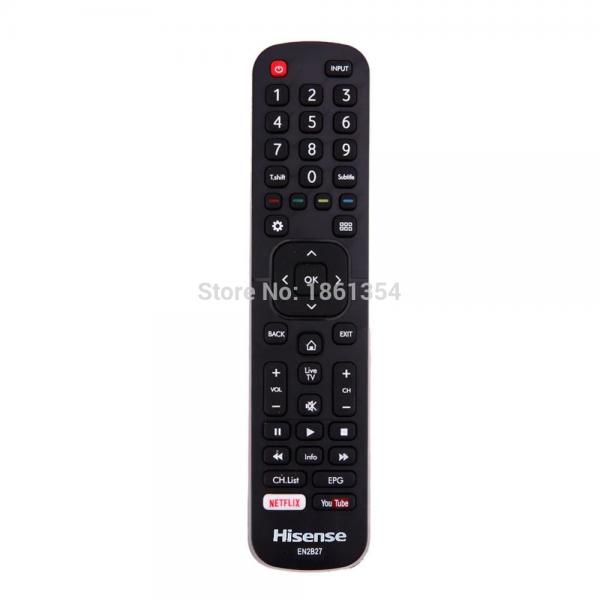 שלט מקורי לטלוויזיה חכמה הייסנס Hisense SMART TV EN2B27-2