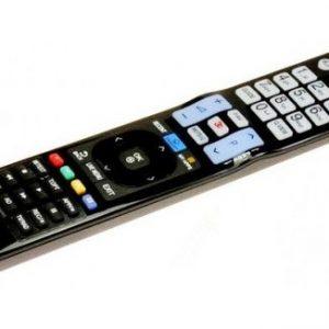 שלט מקורי לכל הטלוויזיות מבית LG מתאים לטלויזיה חכמה אל ג'י סמארט LG LCD LED HDTV 3D Smart TV